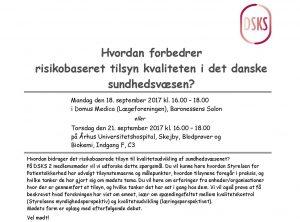 Hvordan forbedrer risikobaseret tilsyn kvaliteten i det danske sundhedsvæsen?