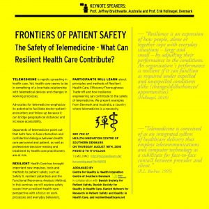 Fronties of patient safety