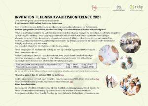 KVALITETSKONFERENCE – Data, forbedringer og det lærende sundhedsvæsen